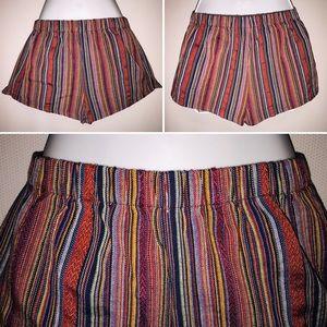 Pants - Summer Shorts Multicolor Size S